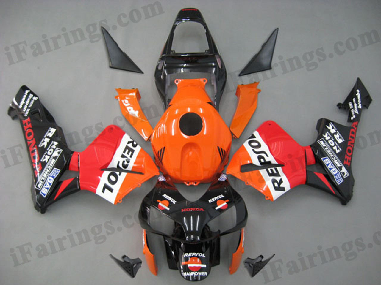 aftermarket fairing kit for CBR600RR 2003 2004 Repsol graphics