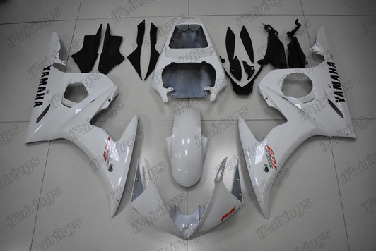 Complete Motorcycle Fairings for Yamaha YZF-600 R6 2005 R6 05 ABS Plastic Motorbike Covers Body Work Panels Kit Gross Red Black