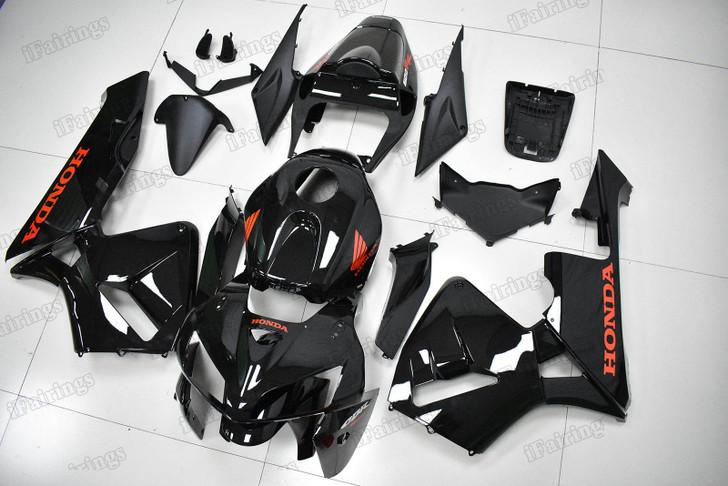 2005 2006 Honda CBR600RR F5 metallic spark gloss black fairing