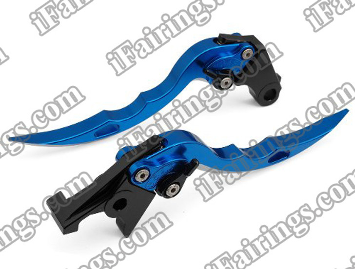 Blue CNC blade brake & clutch levers for Ducati 999/S/R 2003 to 2006 (F-11/H-11). Our levers are designed as a direct replacement of the stock levers but more benefit over the stock ones.