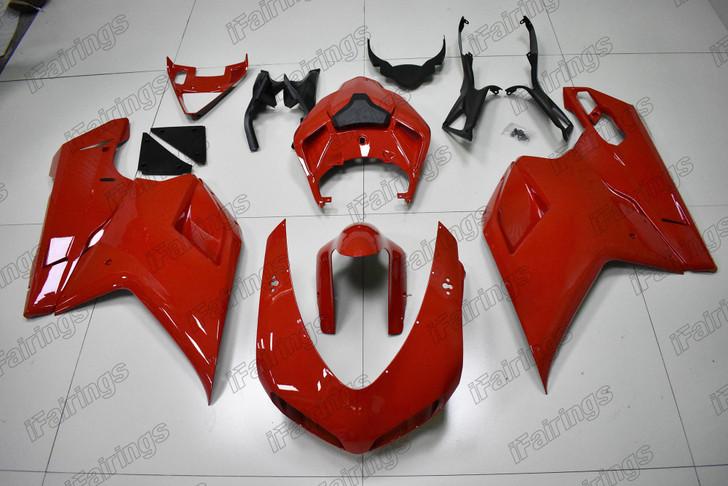 Ducati 848 EVO 1098 1198 OEM red fairing