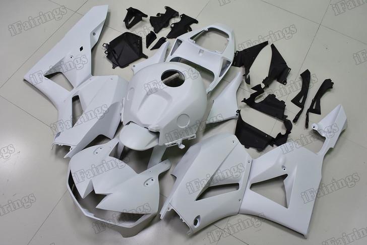 2012 to 2016 2017 Honda CBR600RR matte white graphic fairing kits, aftermarket fairings and bodywork for 2012 to 2016 2017 Honda CBR600RR matte white pattern/scheme.