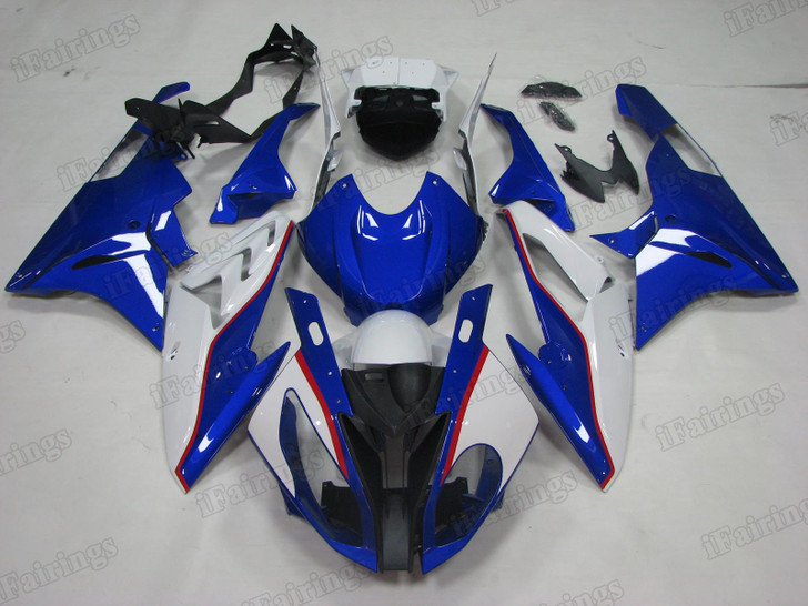 2015 2016 BMW S1000RR blue and white plastic