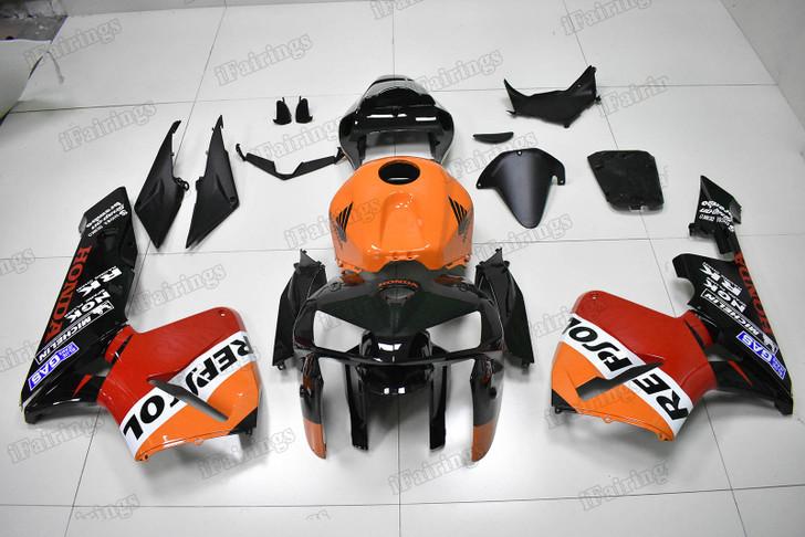 2005 2006 Honda CBR600RR Repsol replica fairing and bodywork