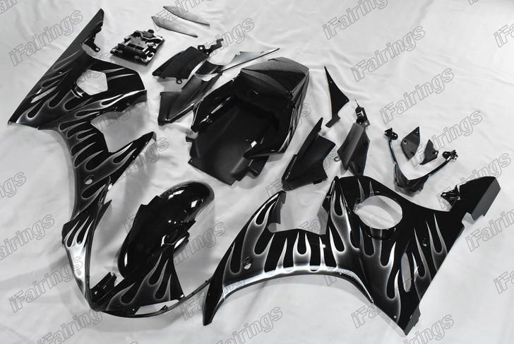 2003 2004 2005 Yamaha R6 gloss black fairing