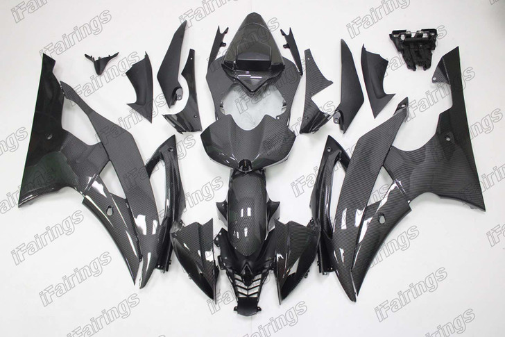 2008 to 2016 YAMAHA YZF-R6 carbon fiber fairing