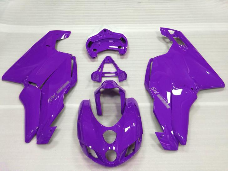 2005 2006 Ducati 749 999 purple fairing