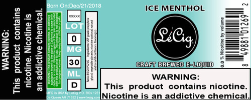 US Made Ice Menthol