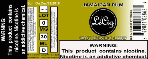 US Made Jamaican Rum