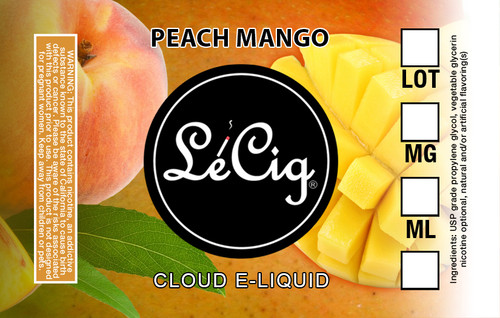 LeCloud Peach Mango eJuice