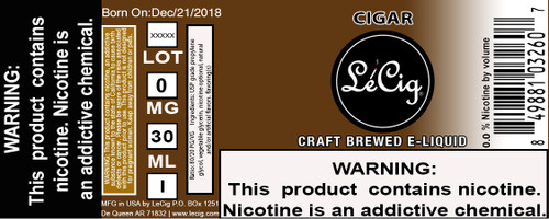 Imported Cigar eJuice
