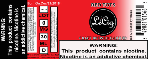 US Made Red Tots eJuice