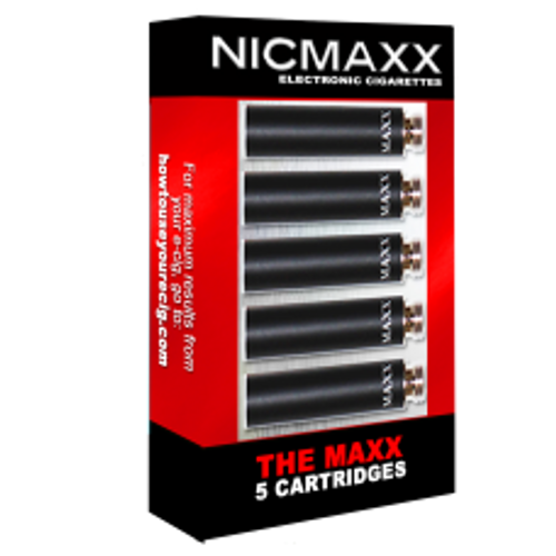 NICMAXX 5pk Cartridges (The MAXX)