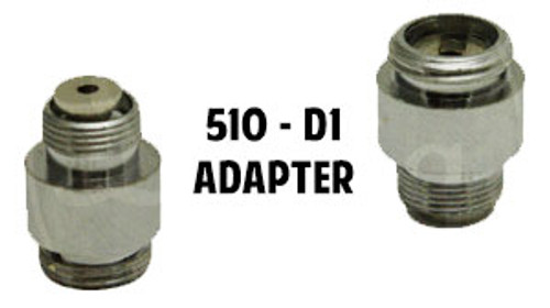 510 Battery to D1 Cartomizer Adapter