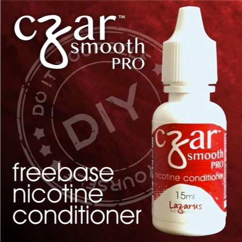 Czar Smooth Pro Freebase Nicotene Conditioner - 1 Bottle