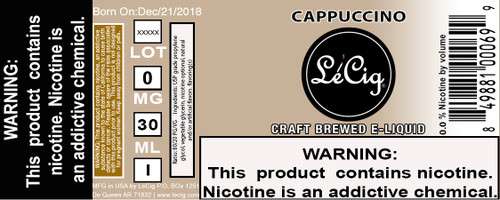 Imported Cappuccino eJuice