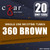 cZar 540 Brown - 20 Single Use Nicotine Tubes