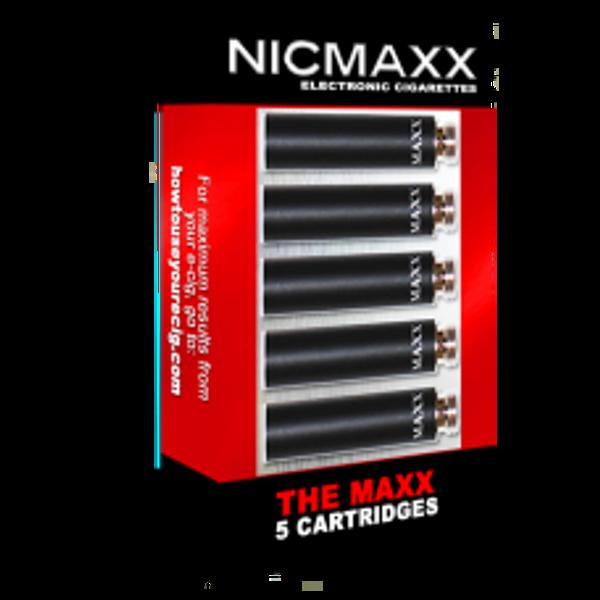 NICMAXX 5pk Cartridges (The MAXX)