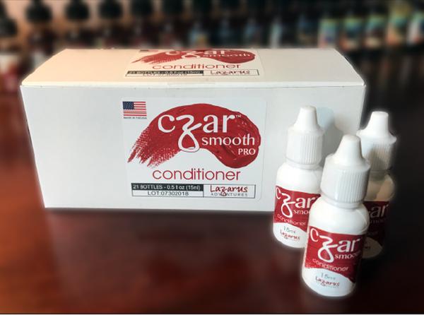 Czar Smooth Pro Freebase Nicotene Conditioner - 21 Bottle Count Box