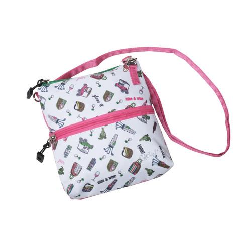 Nine & Wine 2 Zip Bag