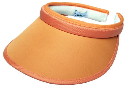 Orange Slide On Visor