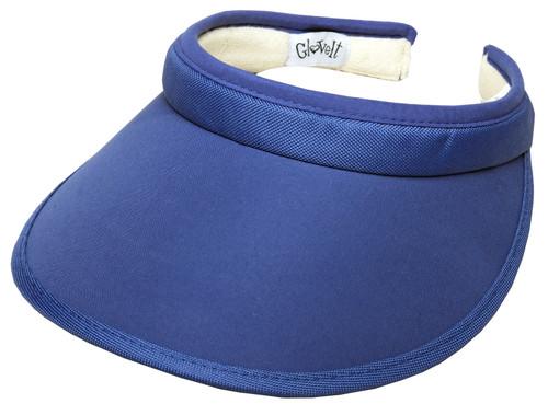 Blue Slide On Visor