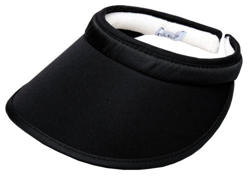 Black Slide On Visor