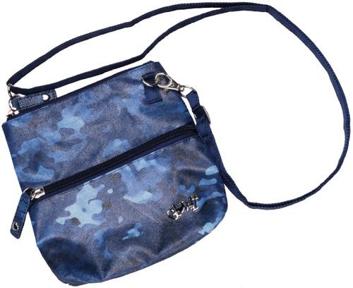 Blue Camo 2 Zip Carry All Bag