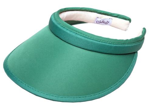 Green Slide On Visor