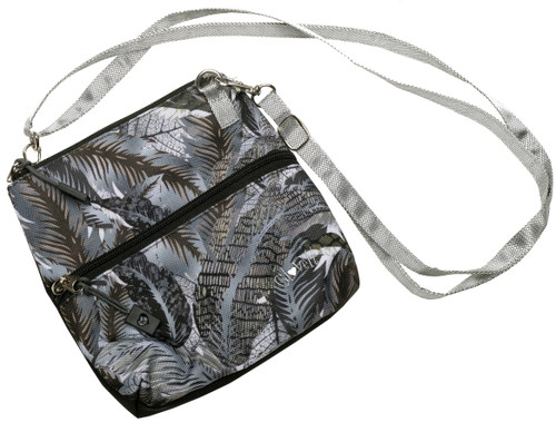 Shaded Leaf 2 Zip Carry All Bag