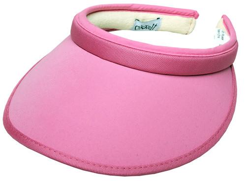 Pink Slide On  Visor