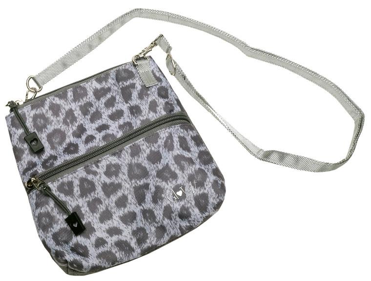 Snow Leopard 2 Zip Carry All Bag