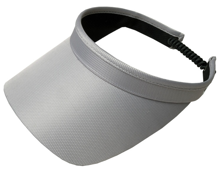 Grey Solid Coil Visor