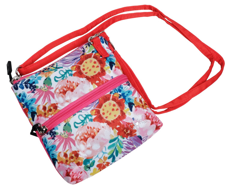 Hawaiian Tropic  2 Zip Carry All Bag