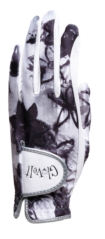 Graphite Flower Golf Glove