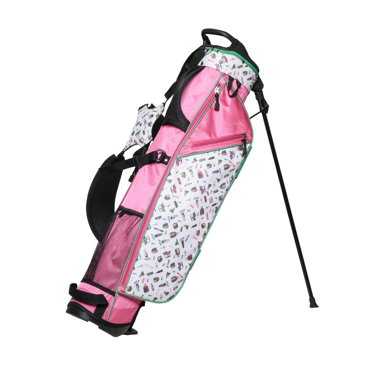 Nine & Wine Mini Golf Bag