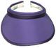 Purple Slide On Visor
