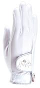 White Clear Dot Golf Glove
