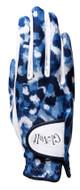 Blue Leopard Golf Glove
