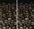 2 part Catacomb Skulls Halloween Window Poster Decorations