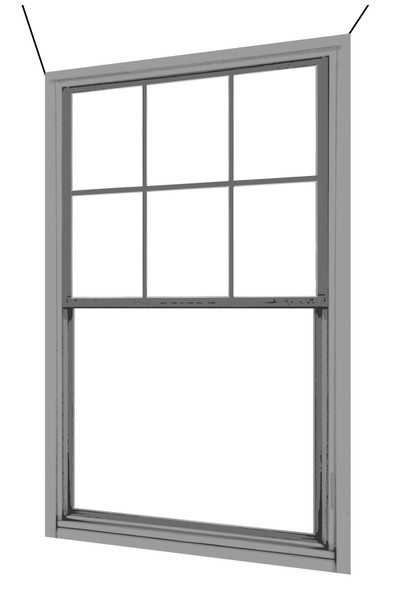 Fake plastic window with hanging kit (see description for ordering)