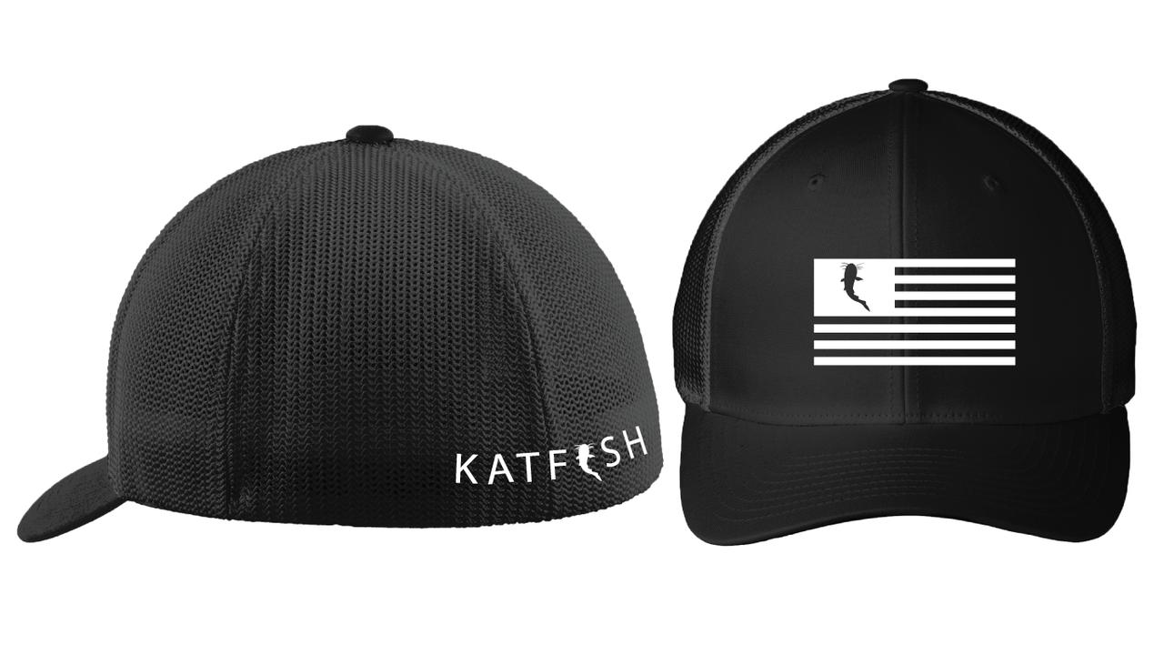 addc4ad4503 2018 FlexFit Flag Hat - Katfish Clothing