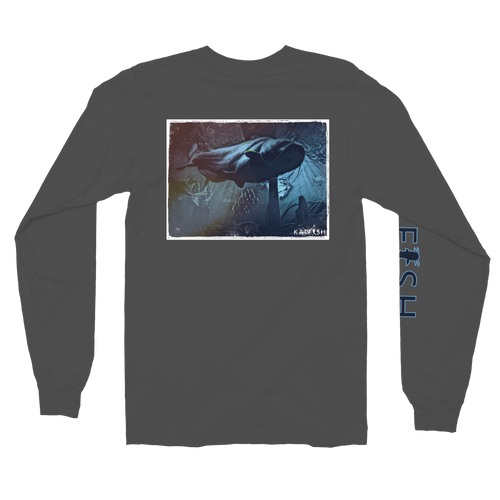 Big Blue Monster | Long sleeve t-shirt