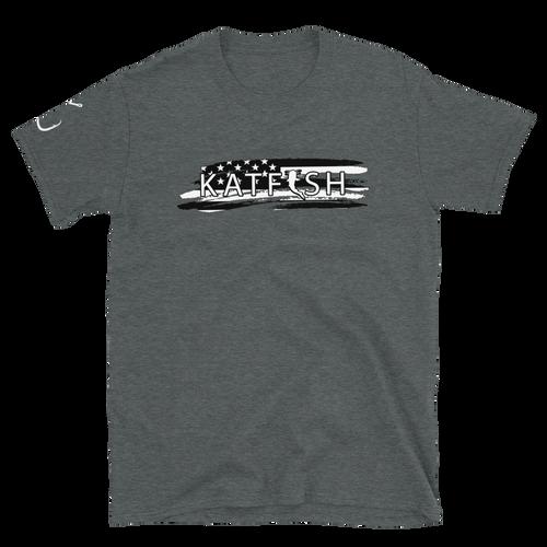 Katfish Thrashed Flag | Short-Sleeve T-Shirt