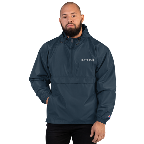 Katfish Champion Embroidered Packable Jacket