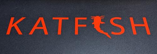 KATFISH Logo Orange Vinyl