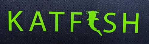 KATFISH Logo Green Decal