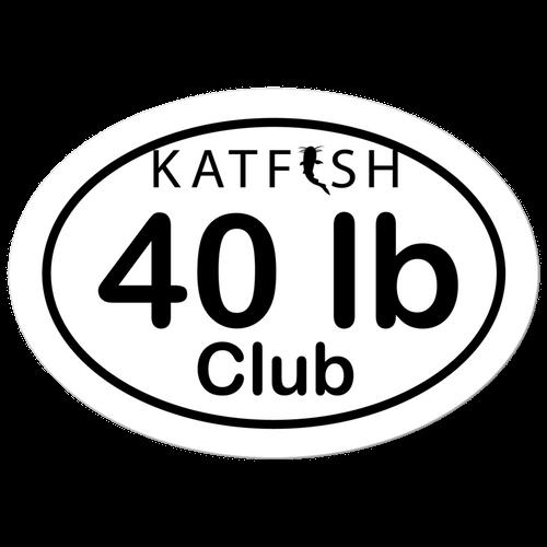 KATFISH-40# CLUB STICKER