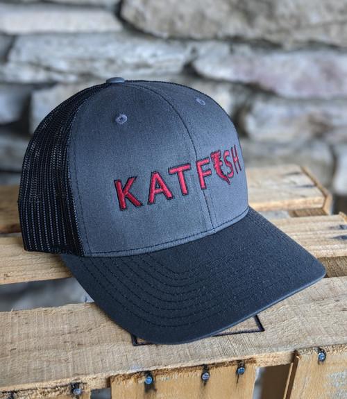 2020 KATFISH FLAT Logo Burgundy SNAPBACK