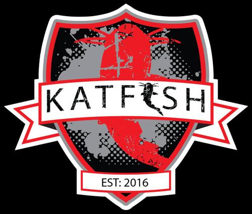 KATFISH BANNER Decal RED